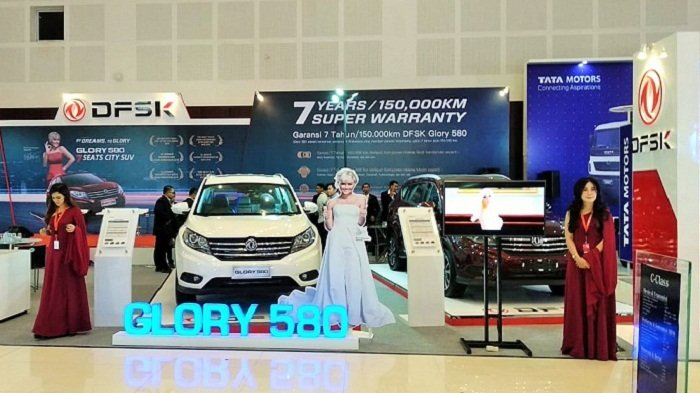 Super Garansi 7 Tahun dan Beragam Promo DFSK di IIMS Surabaya 2018