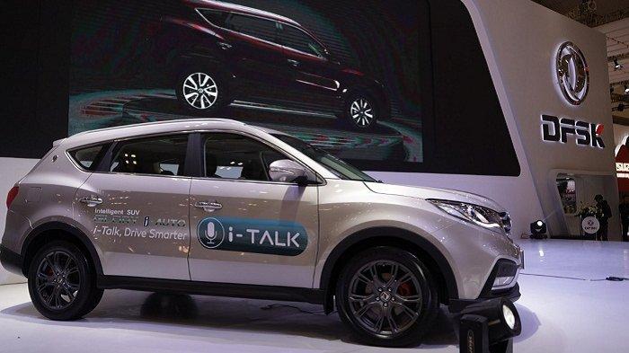 Mobil Pintar DFSK Glory i-Auto Berfitur Canggih di GIIAS 2019, Kontrol Multimedia Tinggal Ngomong