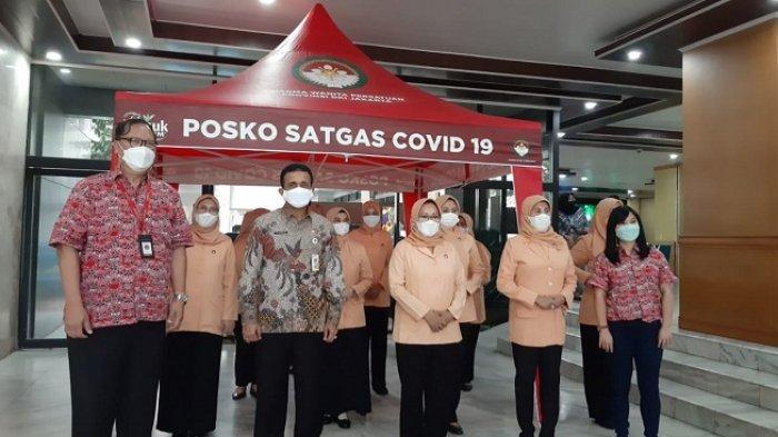 DWP DKI dan Teh Pucuk Harum Donasi Ratusan Tenda untuk Satgas Covid-19 Jakarta dan Kep Seribu
