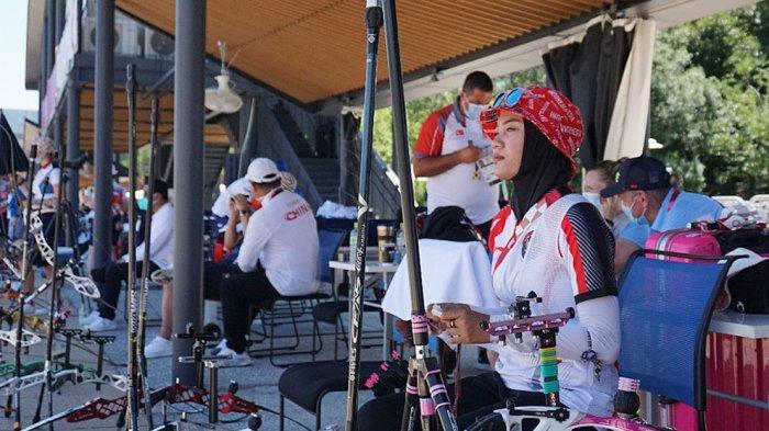 Tim panahan akan mengawali langkah Indonesia di Olimpiade Tokyo 2020 saat penentuan peringkat individu putra dan putri yang akan berlangsung di Lapangan Yumenoshima, Jumat (23/7/2021).