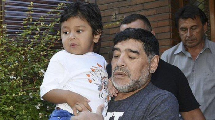 TERUNGKAP Pesan Terakhir Diego Maradona untuk Putra Bungsu Memilukan, Polisi Periksa Dokter Pribadi