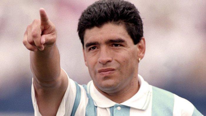 Maradona Sukses di Lapangan, Punya Sisi Buruk di Kehidupan Mulai dari Narkoba Sampai Perselingkuhan