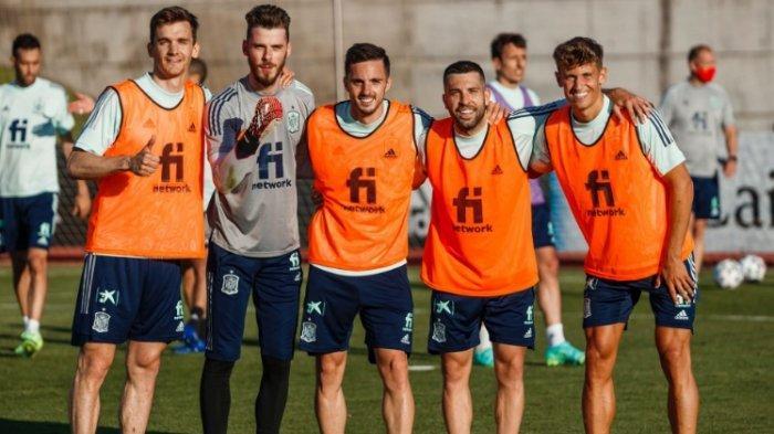 Jelang Laga Spanyol vs Swedia: Busquets, Llorente, Kulusevski, Mattias Svanberg Positif Covid-19