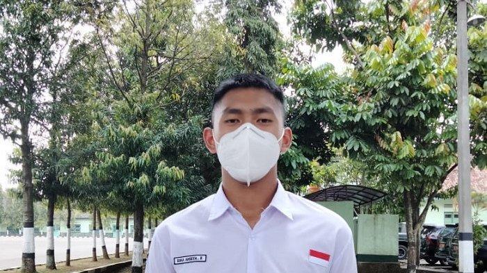 Dika Ambiya R, Siswa dari Kabupaten Bogor Masuk Tim Paskibraka Nasional, Siap Bertugas di Istana