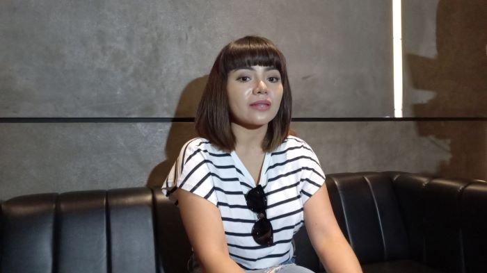 Dinar Candy saat berbincang di Hollywings, Jalan Gatot Subroto, Jakarta Selatan, Rabu (9/6/2021).