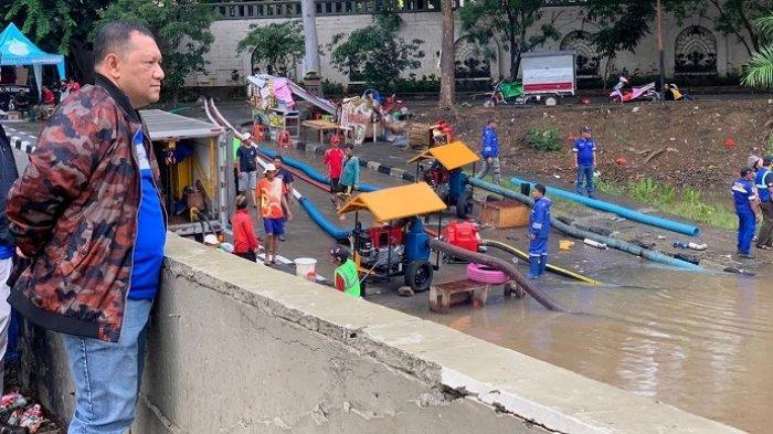Diminta Bantu, Dinas SDA DKI Kerahkan 6 Pompa Portabel ke Underpass Gandhi Kemayoran