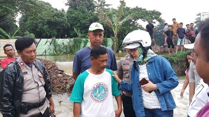UPDATE Dinding Situ Pamulang Jebol, Wali Kota Airin hanya Bisa Lakukan Perbaikan Sementara