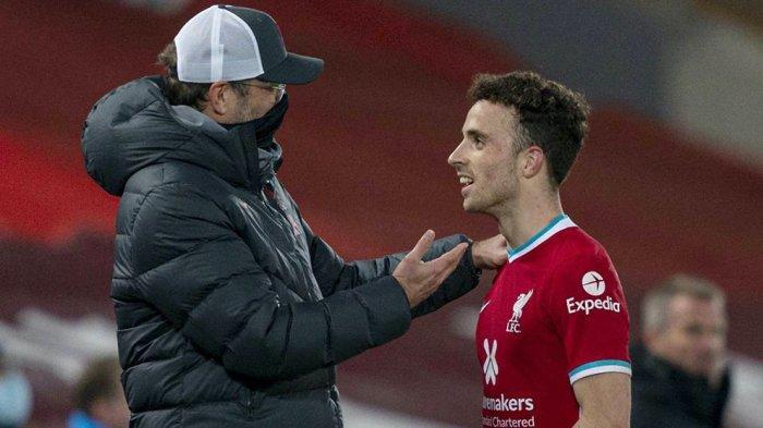 Jurgen Klopp Pelatih Liverpool Terkesan Dengan Kondisi Terakhir Dioga Jota Saat Latihan Bersama