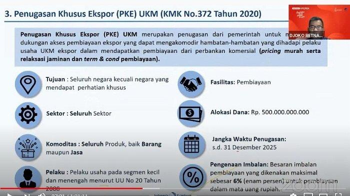LPEI Indonesia Eximbank Beri Fasilitas Pinjaman untuk UMKM Berorientasi Ekspor, Ini Syaratnya