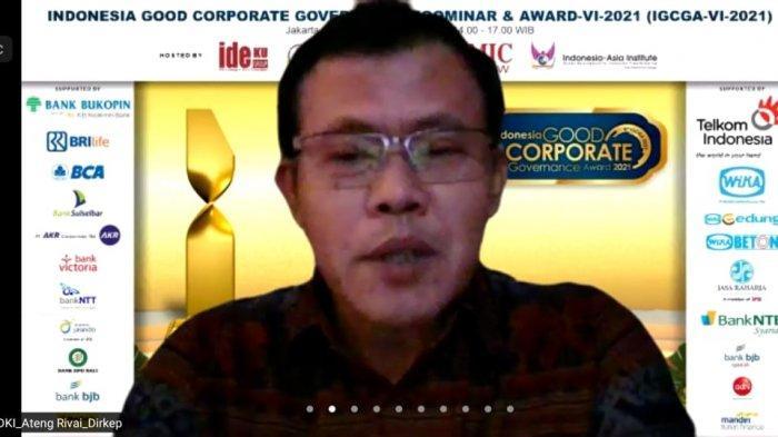 Bank DKI Raih The Best Indonesia GCG Award 2021