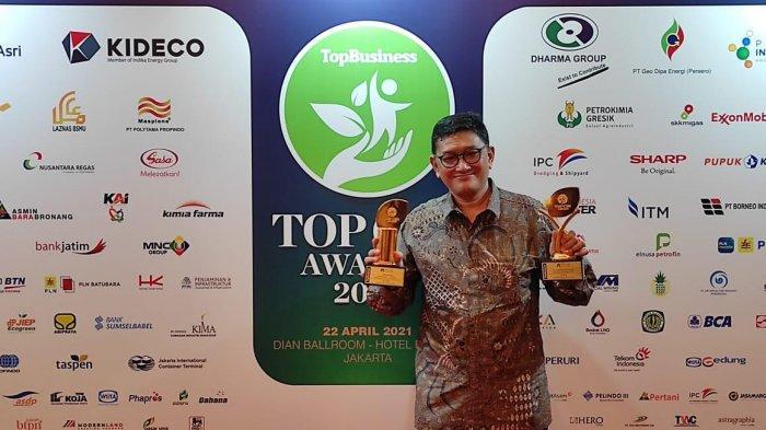 Kabar Gembira, PT JICT Kembali Raih Dua Penghargaan TOP CSR Awards 2021