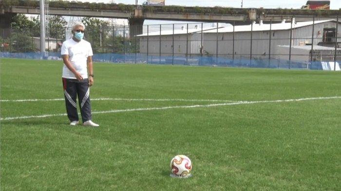 Dua Lapangan Latih Stadion JIS Gunakan Rumput Hybrid: Seperti Lapangan Klub Raksasa Eropa