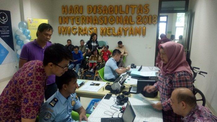 Hari Disabilitas Internasional, Imigrasi Kelas I Khusus Jakbar Buka Pelayanan Paspor di YPAC