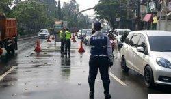 Dishub Kota Tangerang Putar Balik Ratusan Kendaraan yang Nekad Melawan Larangan Mudik