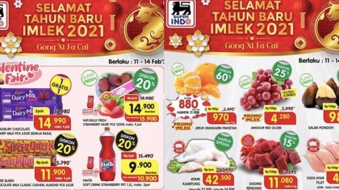Promo Superindo Hari Ini (13/2) Dapatkan Diskon Cokelat dan Buah Hingga 30 Persen dn Produk Lainnya