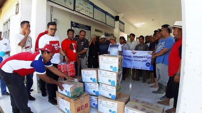Bersama Kemenperin dan Papa Ron's, Wings Kembali Kirim Bantuan bagi Korban Banjir Lebak dan Bogor