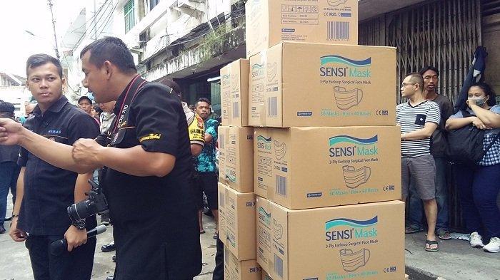 Pengakuan Distributor Masker yang Kewalahan Hadapi Pembeli Dadakan karena Isu Virus Corona