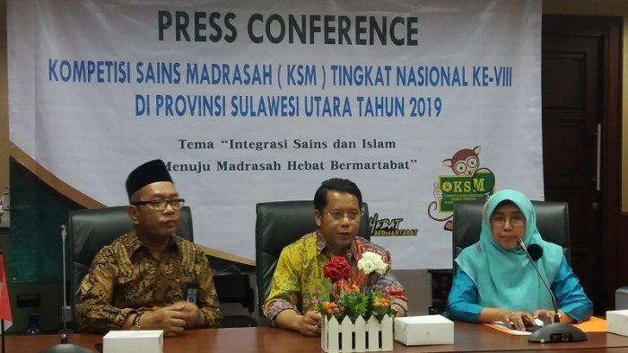 Sebanyak 550 Siswa Bakal Beradu Pintar dalam Kompetisi Sains Madrasah (KSM) 2019 di Manado
