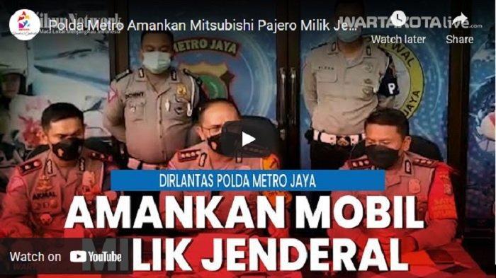 VIDEO Polda Metro Amankan Mitsubishi Pajero Milik Jenderal Tentara Kekaisaran Sunda Nusantara