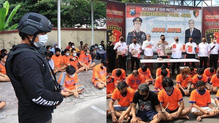 Pascatelepon Presiden Jokowi ke Kapolri, 3.823 Orang Terlibat Premanisme dan Pungli Diringkus