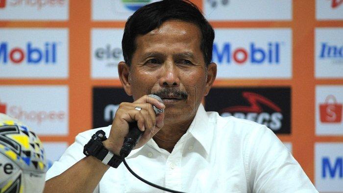 Pelatih Barito Putera Djajang Nurjaman.
