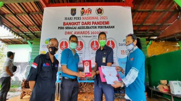Peringati HPN 2021 di Depok, Imam Budi Hartono Serahkan Beragam Hadiah