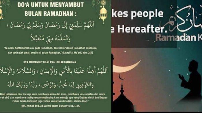 Doa Menyambut Ramadhan 2021 Disertai Latin Dan Artinya Dibaca Saat Magrib Warta Kota
