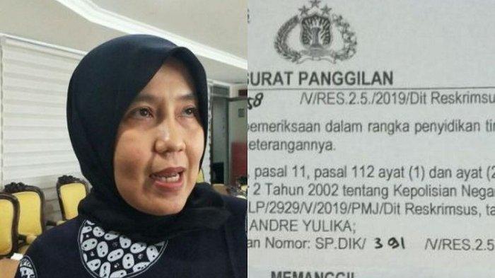 Beredar Surat Polisi Panggil Ani Hasibuan Dokter Bongkar Kematian Anggota KPPS, Dikomen Pimpinan DPR