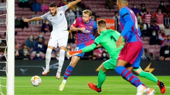 Sedang Berlangsung Barcelona vs Granada 0-1, Gol Cepat Sundulan Kepala Domingos Duarte Menit Kedua