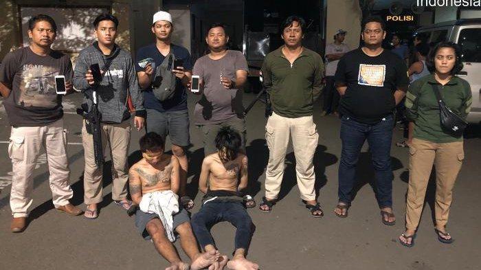 Tim Tiger Ciduk Dua Penodong yang Beraksi di Tanjung Priok