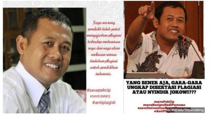 Heboh Dosen Unnes Dibebastugaskan, Benarkah karena Menghina Jokowi dan Jan Ethes via Facebook?