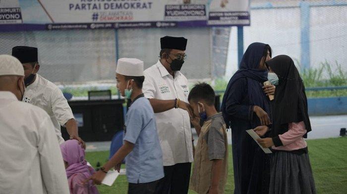 Ketumnya Dizalimi, Demokrat Kabupaten Bogor Ajak Anak Yatim Ketuk Pintu Langit,Berdoa agar AHY Kuat
