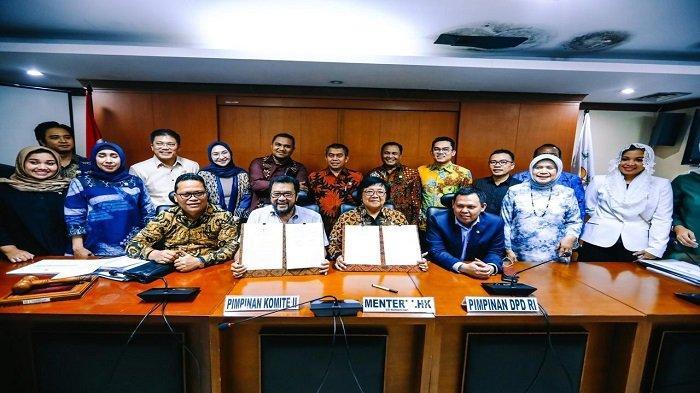 Komite II DPD RI Jalin Kerja Sama Dengan Kementerian LHK Untuk Sejahterakan Daerah - dpd-ri-17-feb-1.jpg