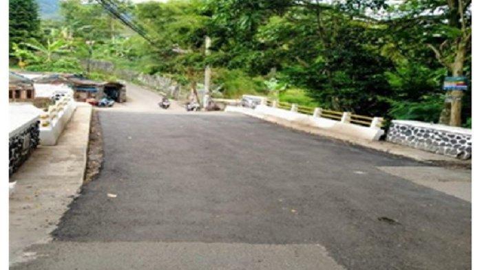 Kondisi setelah pemeliharaan Jalan Cisarua - Batulayang – Ciburial