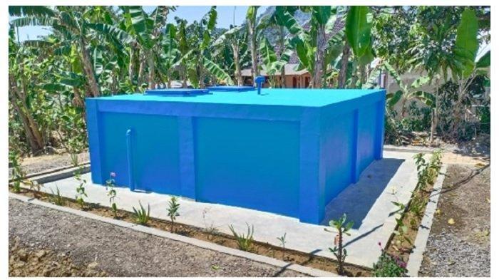 Kegiatan pengembangan sistem distribusi/vertikulasi air minum di Desa Bantar Kuning Kecamatan Cariu.