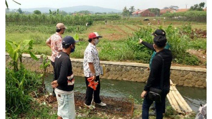 PSPU Survey rekomendasi jembatan di Desa Bantarjaya Kec. Rancabungur, Kab Bogor.