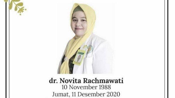 Kisah Pilu Dokter Novita, Wafat Bersama Bayi 7 Bulan Dalam Kandungannya karena Terpapar Covid-19