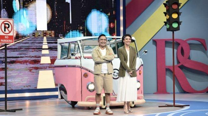 Ruben Onsu dan Sarwendah di drama musikal Romansa Cinta yang tayang di ANTV, Sabtu (14/11/2020).