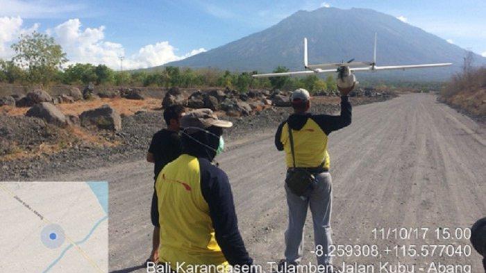 Pantau Dampak Tsunami Selat Sunda, BNPB Gunakan Pesawat Nirawak Drone