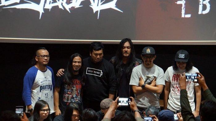 Daniel Mardhany Vokalis Band Metal DeadSquad Diciduk Polisi Tersangkut Dugaan Kasus Narkoba