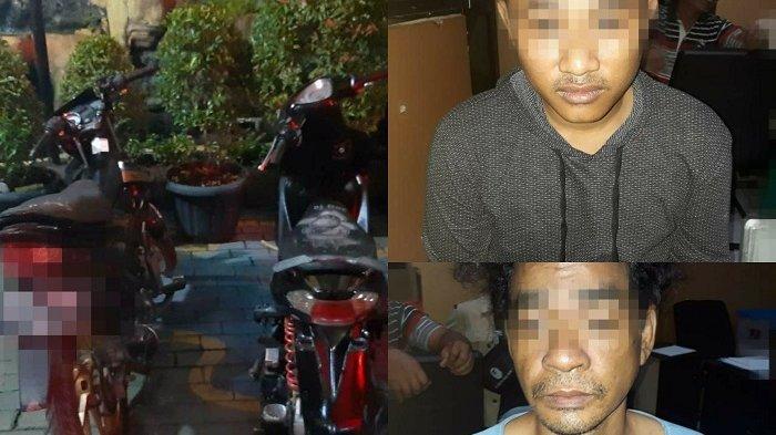 SETELAH 18 Kali Curi Motor dan Menjualnya di Kampung Ambon, Dua Pria Ini Akhirnya Dibekuk Polisi