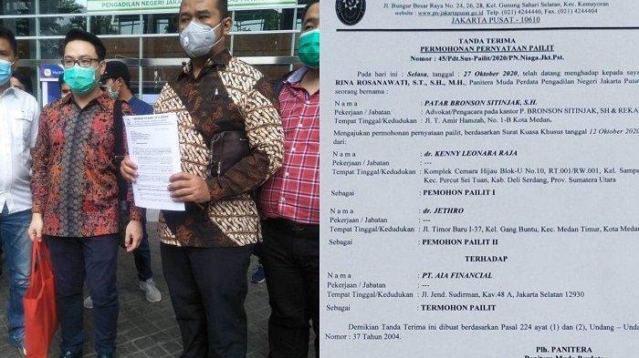 PT AIA Financial Digugat Pailit ke Pengadilan Niaga
