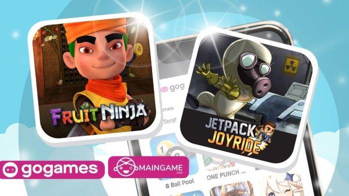 Mobile Game 'Fruit Ninja' dan 'Jetpack Joyride' Gratis di Aplikasi Gojek, Langsung Main Tanpa Unduh