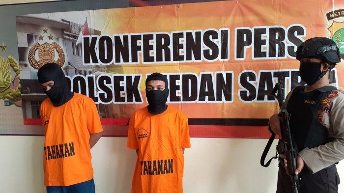 VIDEO: Dua Pelaku Pembobolan Minimarket di Bekasi Diringkus Polisi