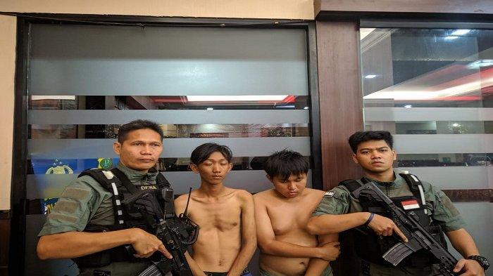 Polres Metro Jakarta Selatan Bekuk Dua Pelaku Tawuran Manggarai