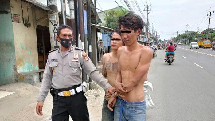 Dua Pemuda Diamuk Warga, Kepergok Mencuri Ponsel Milik Santri di Pesantren Kampung Kolong Tangerang
