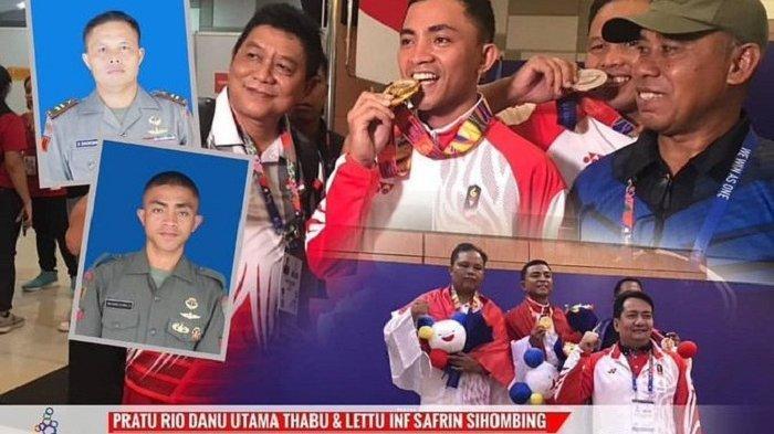 DUA Prajurit Kopassus Sumbang Medali Emas dan Perak di SEA Games 2019, Indonesia Peringkat Tiga