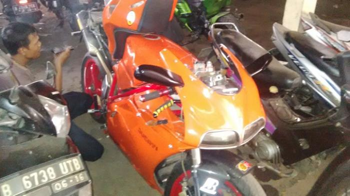 Polisi BM yang Ditabrak Ducati Sudah Pulang dari Rumah Sakit