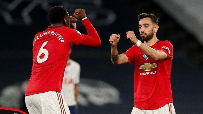 Prediksi Pemain dan Live Streaming Manchester United vs AFC Bournemouth, Pogba-Fernandes Starter