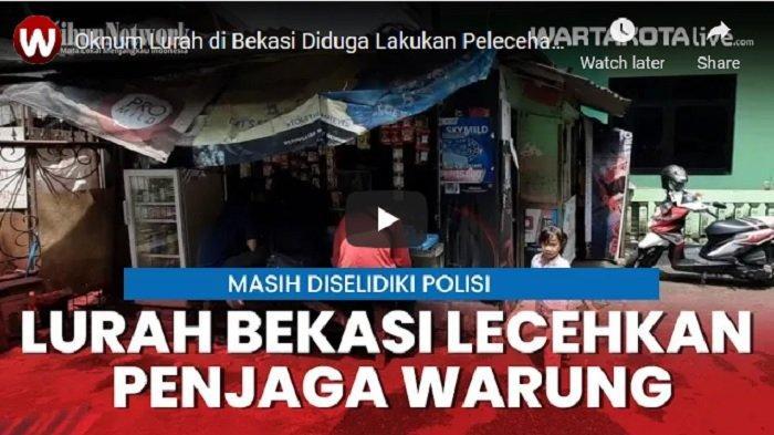 VIDEO Polisi Selidiki Dugaan Pelecehan Seksual Oknum Lurah di Bekasi, Si Lurah Akan Diinterogasi